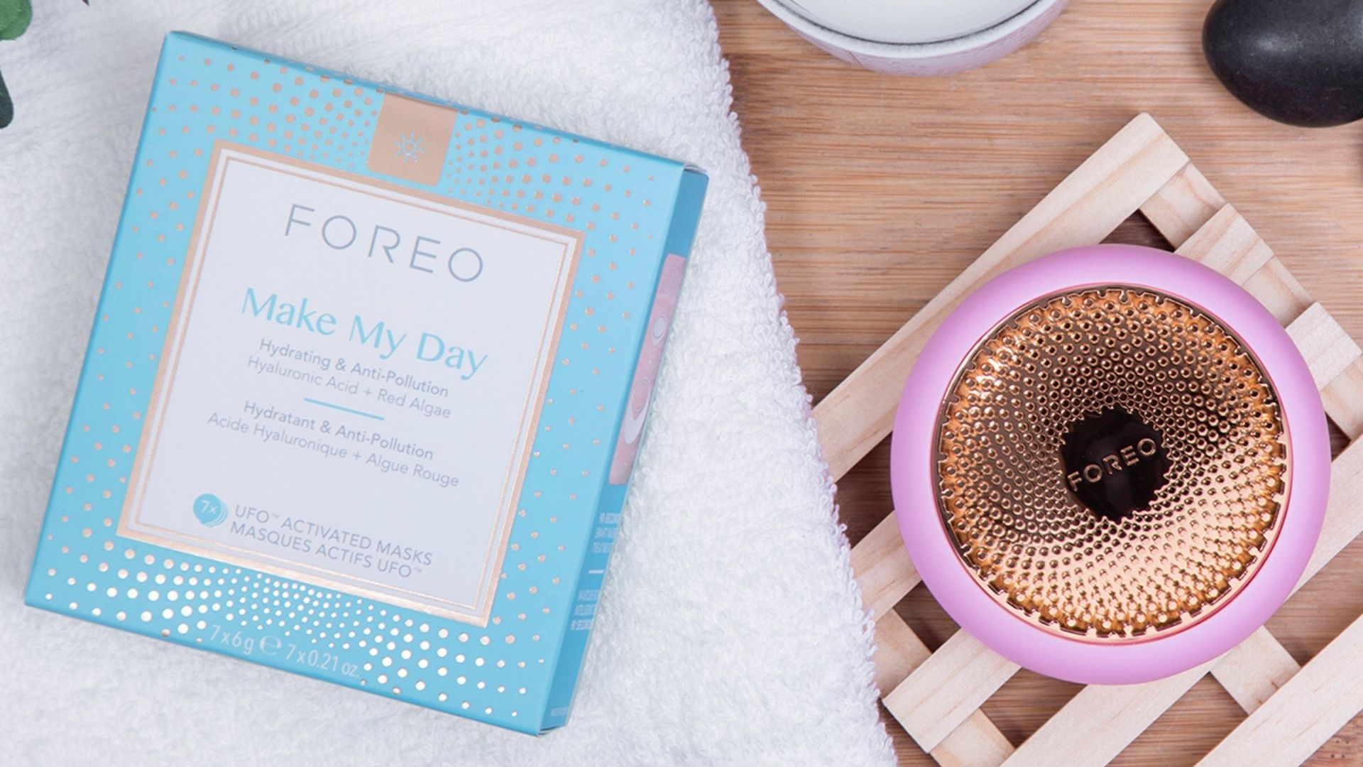 #BAZAARLoves: FOREO's UFO Smart Mask Treatment System