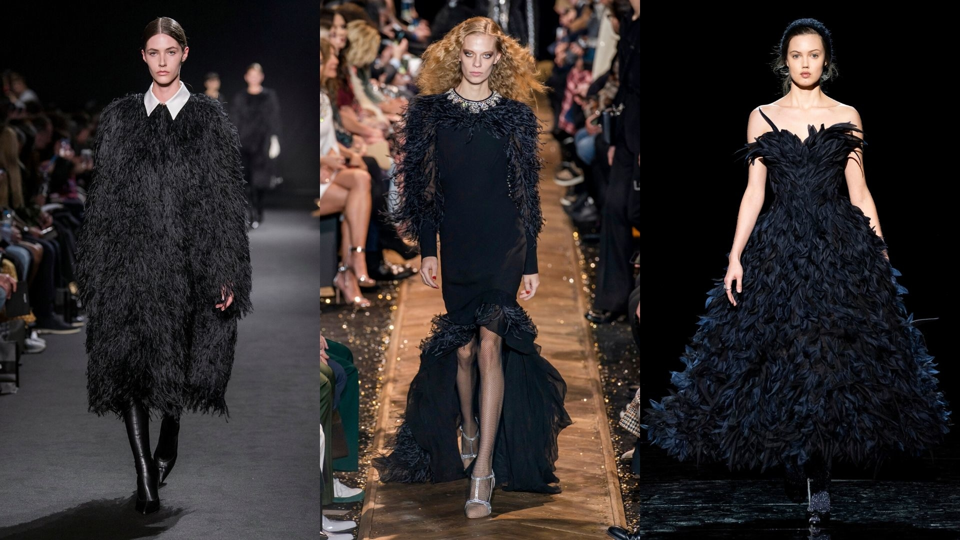7 Dark Feathered Fashion Finds