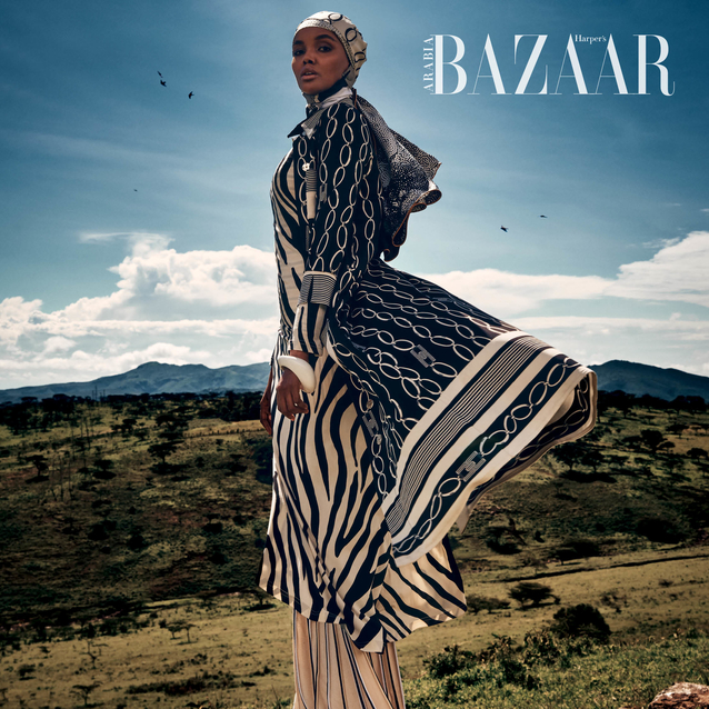 February Cover: Refugee-Turned-Cultural Icon Halima Aden Is The Hero We All Deserve