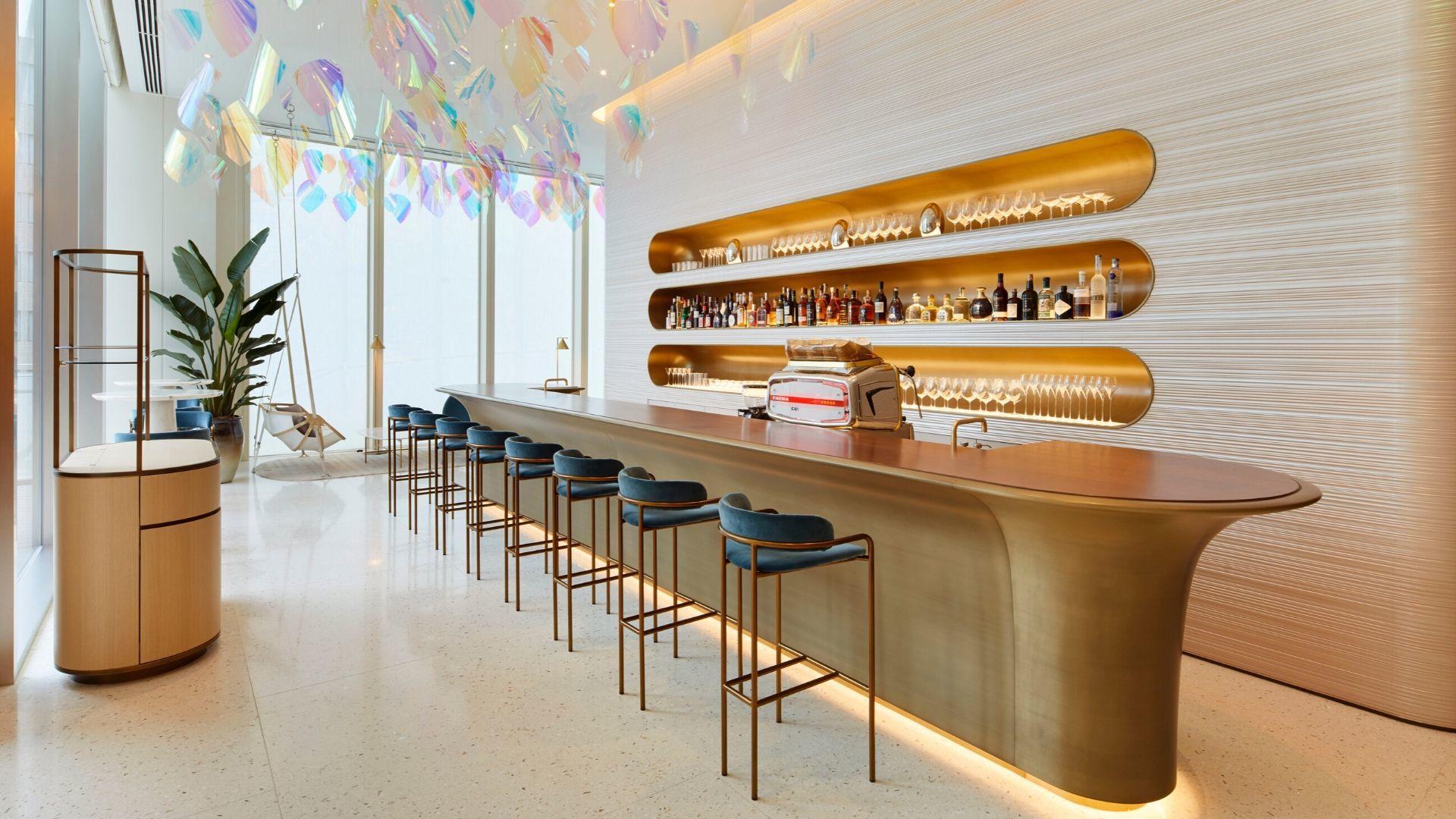 Inside Louis Vuitton's First-Ever Café And Restaurant