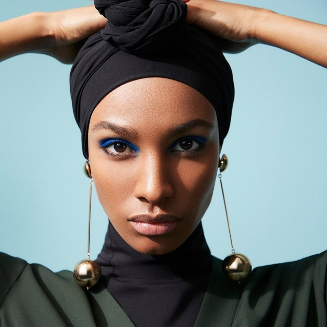 Ikram Abdi Omar Stuns In The Outnet x DVF Campaign