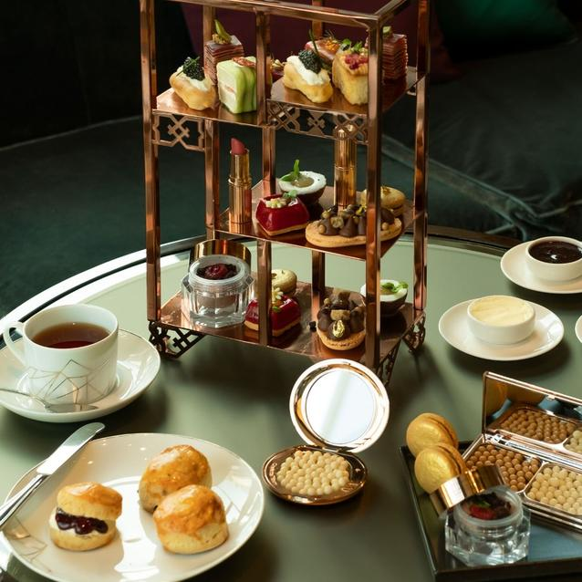 #ChicEats | The Charlotte Tilbury Afternoon Tea, Four Seasons Hotel Dubai DIFC