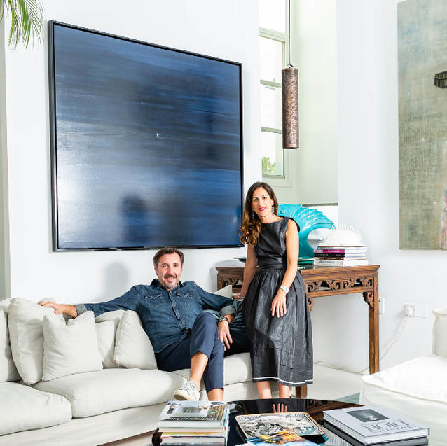 A Serene Oasis: Inside Teresa And Alessandro Geneloni's Eclectic Home