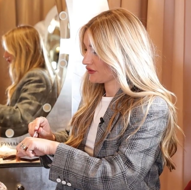 Watch   BAZAAR Beauty: Sofia Tilbury's 'Pillow Talk' Makeup Tutorial