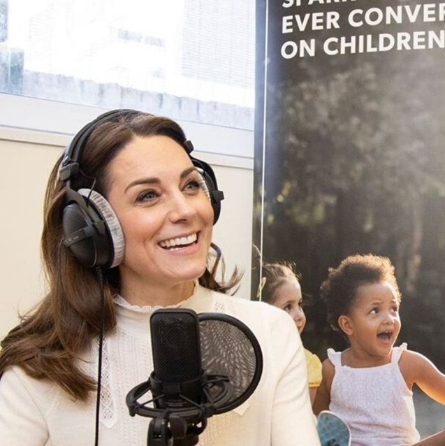 Listen | Kate Middleton's First-Ever Podcast Interview