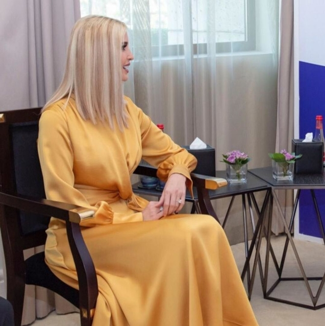 Exclusive: Ivanka Trump Records A Message Dedicated To Middle Eastern Women During Her UAE Trip