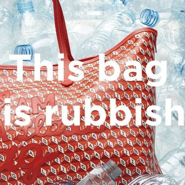 Anya Hindmarch's New Bag Is The Only Plastic Bag We Ever Want To Carry