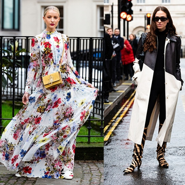 12 Impossibly Stylish Winter Street Style Looks From LFW