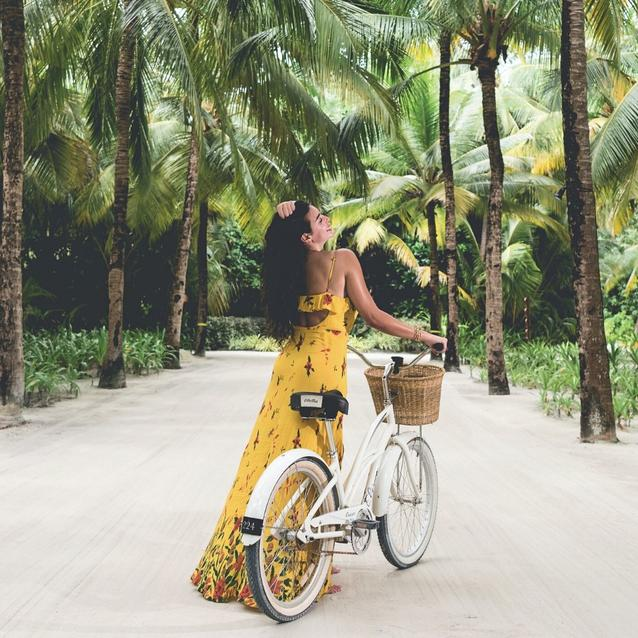 Escaping With Yasmine Sabri To The Luxe Maldivian One&Only Reethi Rah Resort