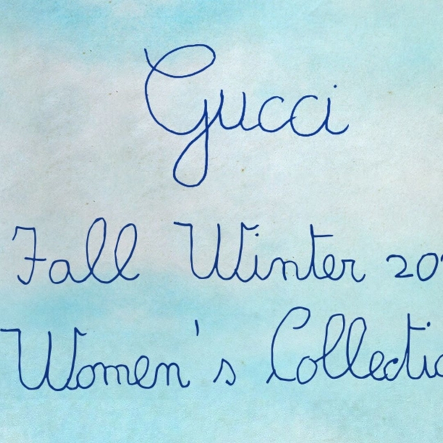 Watch | Livestream Gucci Autumn/Winter 2020 Show