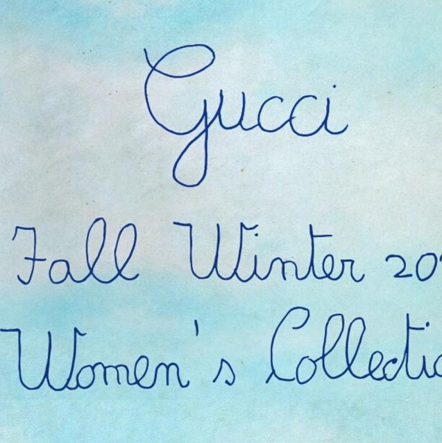 Watch   Livestream Gucci Autumn/Winter 2020 Show