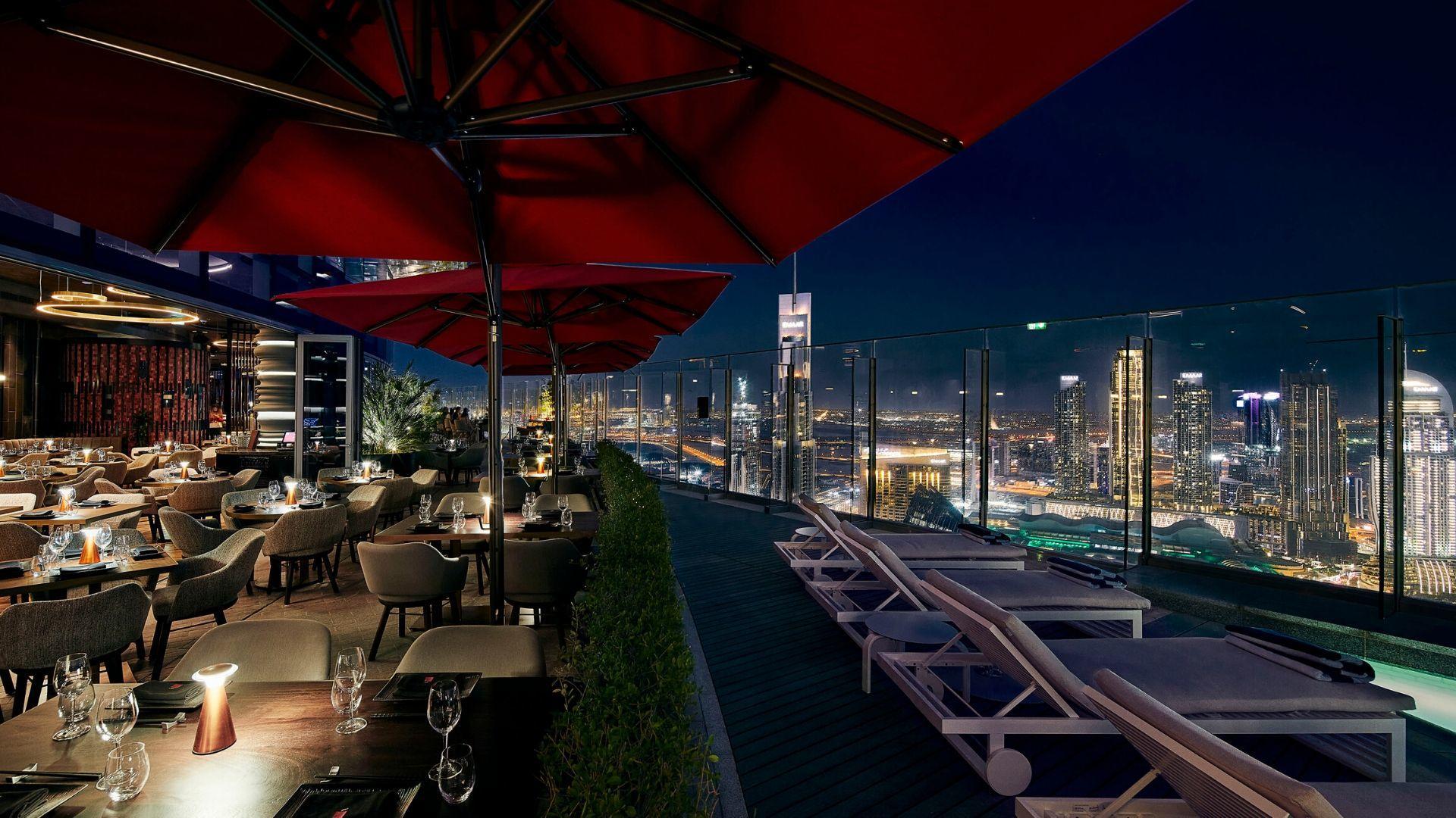 #ChicEats: CÉ LA VI, Address Sky View, Dubai