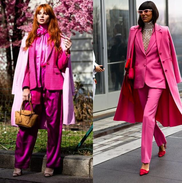 Fashion Week Street Style: The Elle Woods Effect