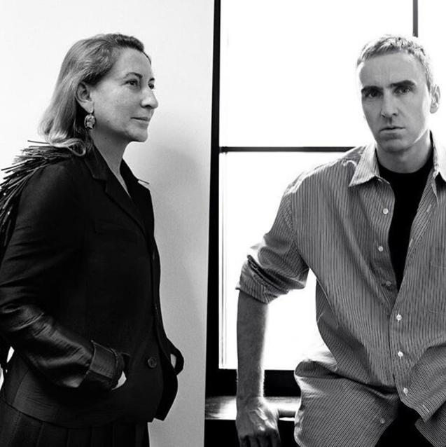 Raf Simons Joins Prada As Co-Creative Director