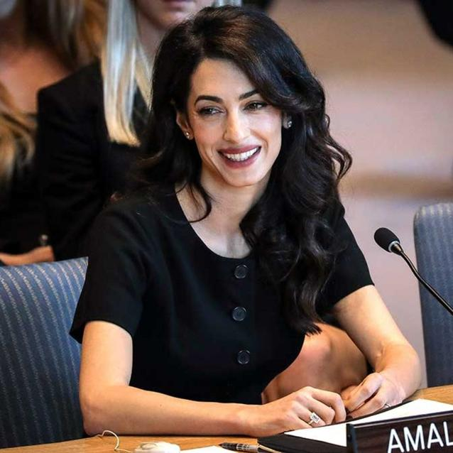 Amal Clooney To Fight For Rohingya Muslims At UN Court