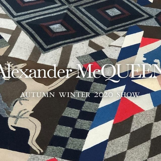 Watch   Livestream Alexander McQueen Autumn/Winter 2020 Show