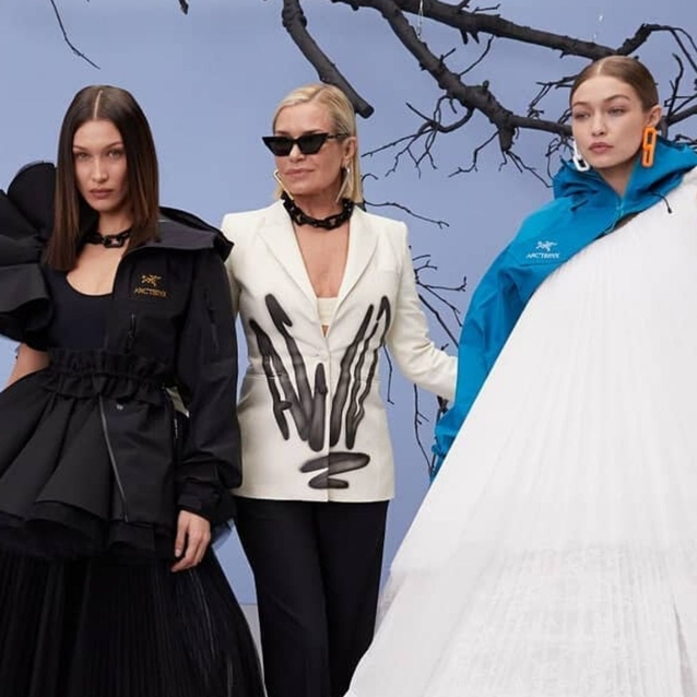 Yolanda, Gigi and Bella Hadid Took Over Off-White's Runway At PFW