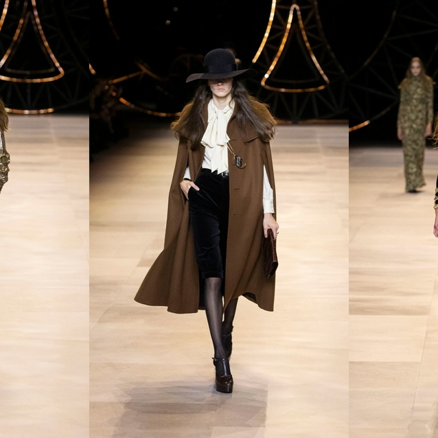 Top 10 Looks From Celine's A/W20 Runway