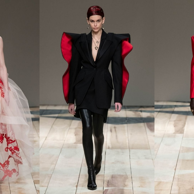 Top 10 Looks From Alexander McQUEEN A/W20  Runway