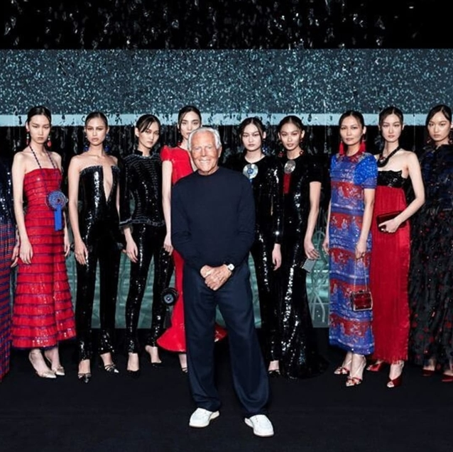 Giorgio Armani's Dubai Show Has Been Postponed Due To Coronavirus