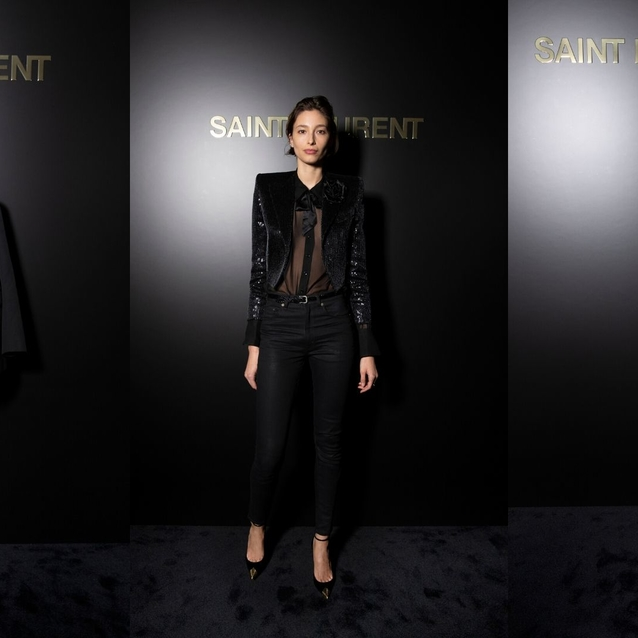The Best Looks From The Saint Laurent A/W20 FROW