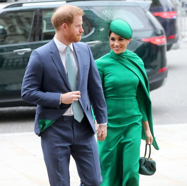 Meghan, Harry, Kate and William Reunite For The Sussexes Last Royal Engagement