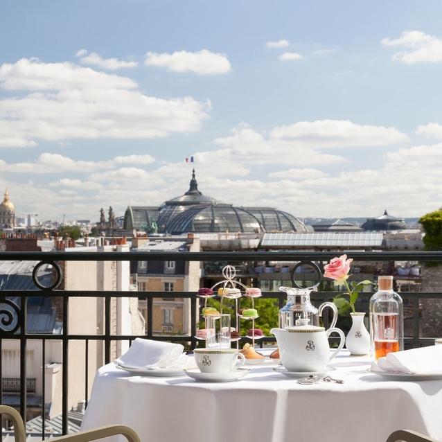The Escape   Le Bristol Hotel, Paris