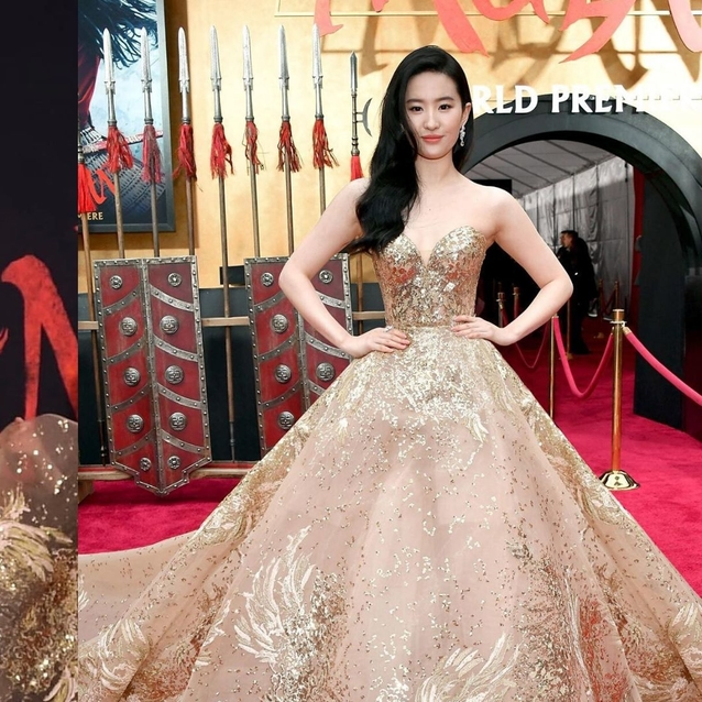 Mulan Star Liu Yifei Stuns In A Show-Stopping Elie Saab Gown