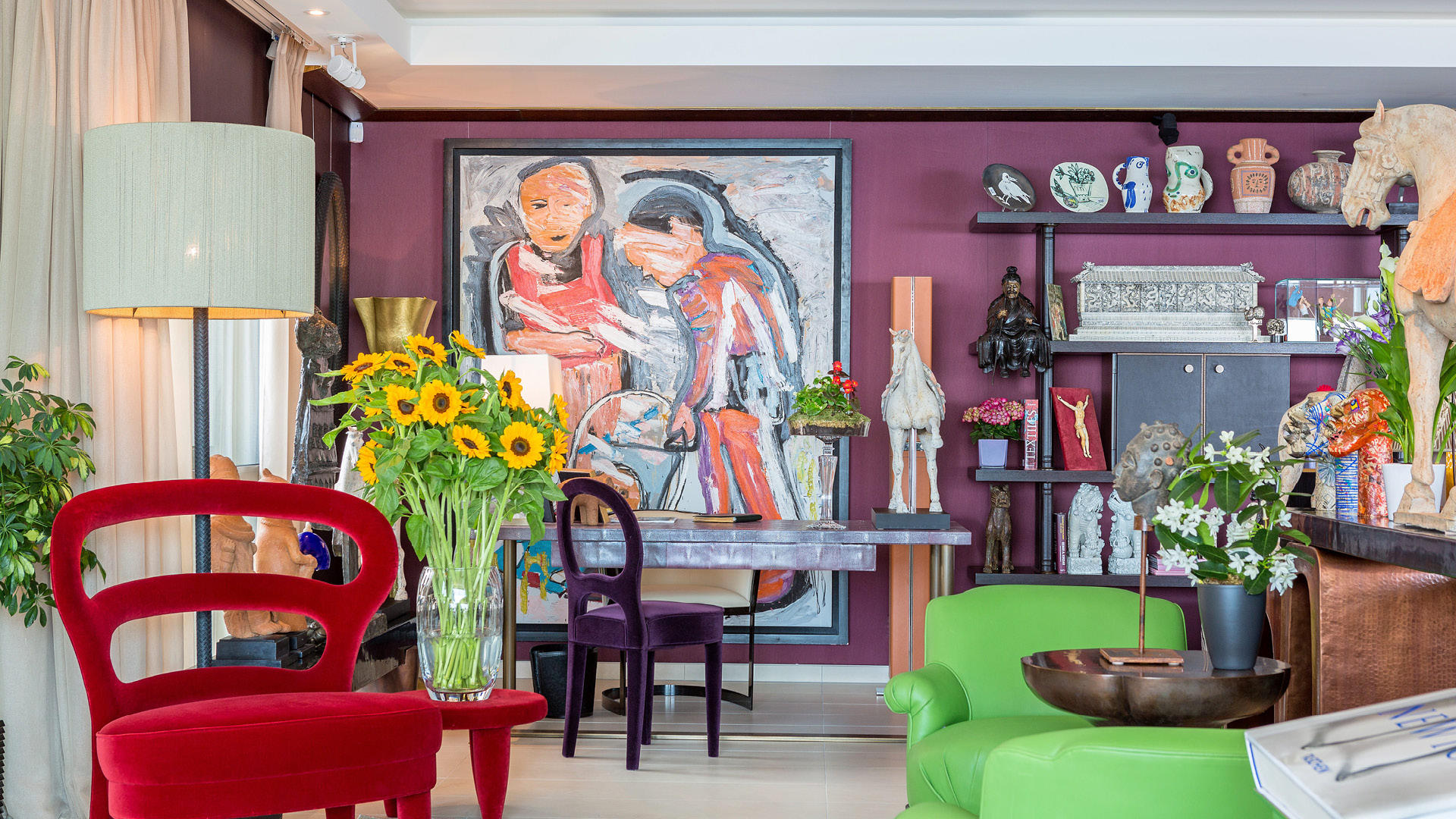 Inside Interior Designer Alia El Tanani's Stunning Family Home In Monaco