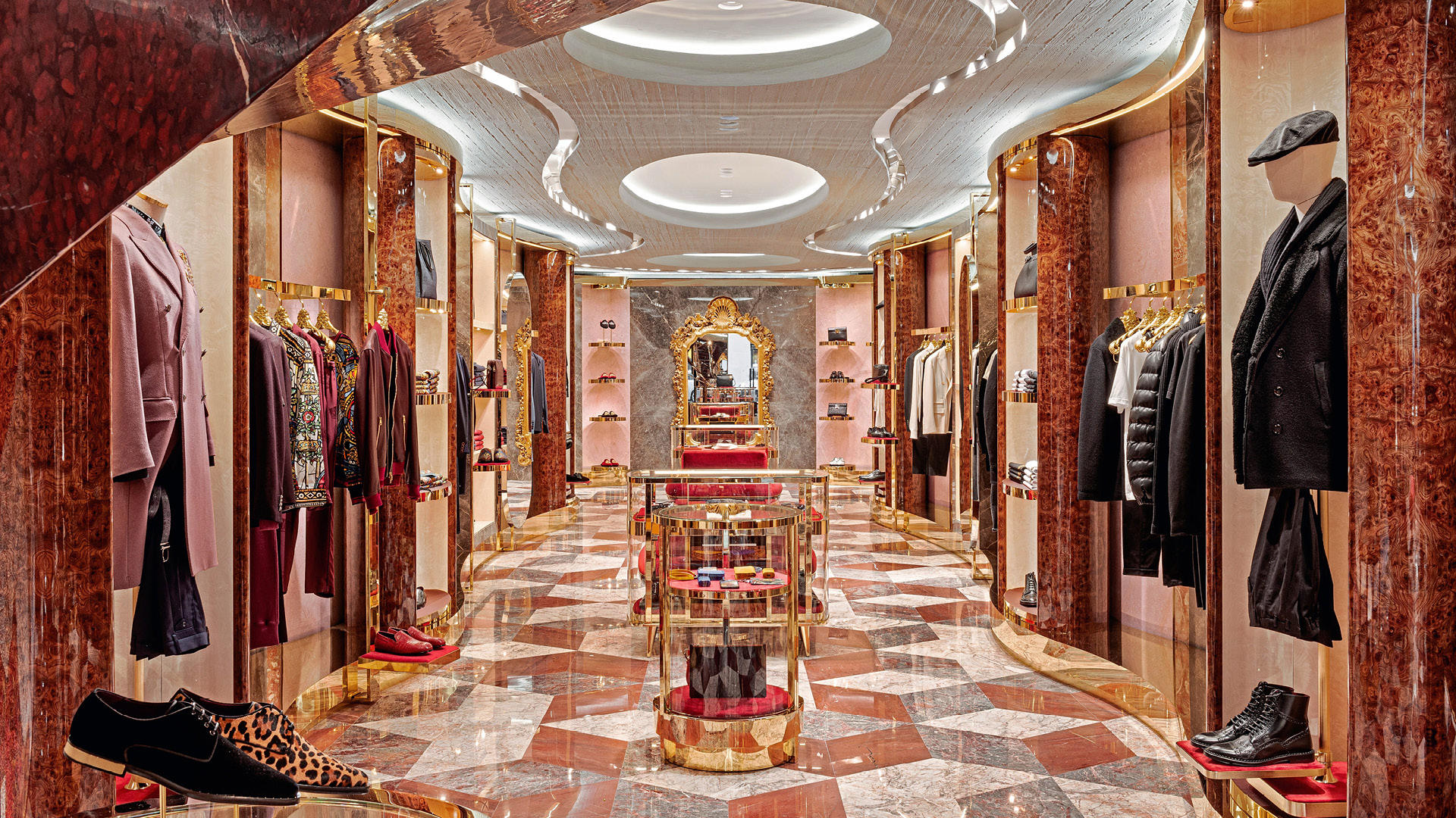 This Dolce & Gabbana Boutique In Paris Is A Cultural Marvel