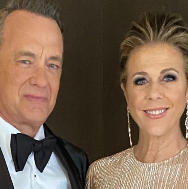 Tom Hanks And Rita Wilson Fly Back Home From Australia