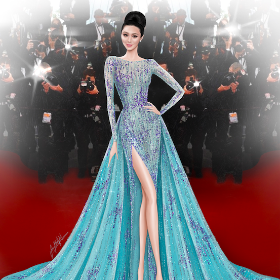 How It Would Have Been: Mohieb Dahabieh Imagines A Georges Hobeika Couture Moment At Cannes