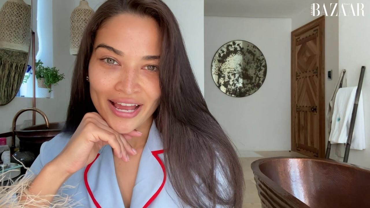 Watch   Shanina Shaik Shares Her Beauty Secrets On #IWokeUpLikeThis