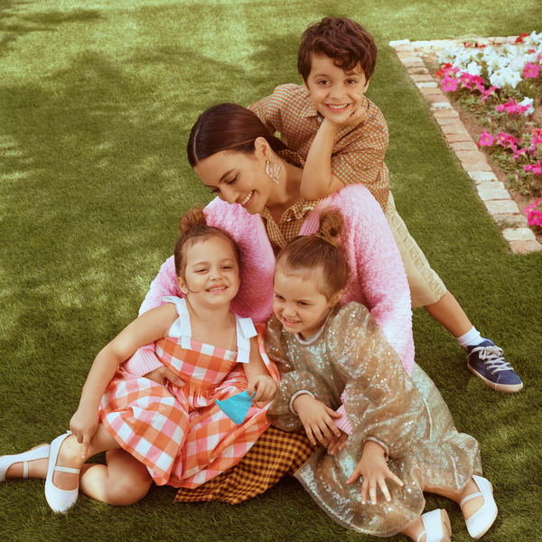 Watch   Here Comes The Sun: Karen Wazen and The Children Soak Up The Rays On Set