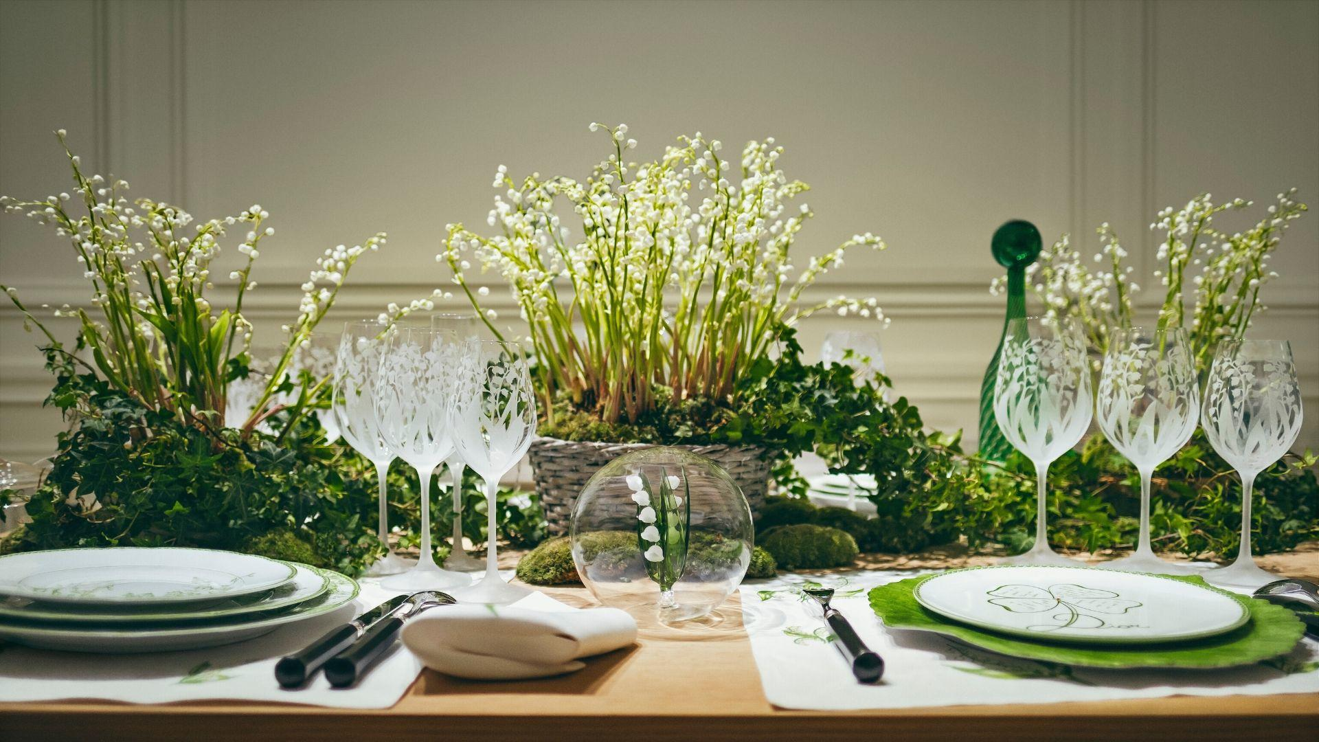 Lily of the Valley Adorn This Season's New Dior Maison Collection By Cordelia de Castellane