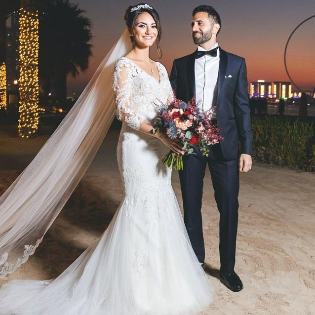 Inside The Wedding Of Reema Attyeh And Haydar Hussain
