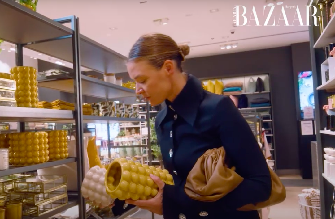 "Watch | A Day Out Shopping With Natalia ""Shoestova"" Shustova | Harper's Bazaar Arabia"