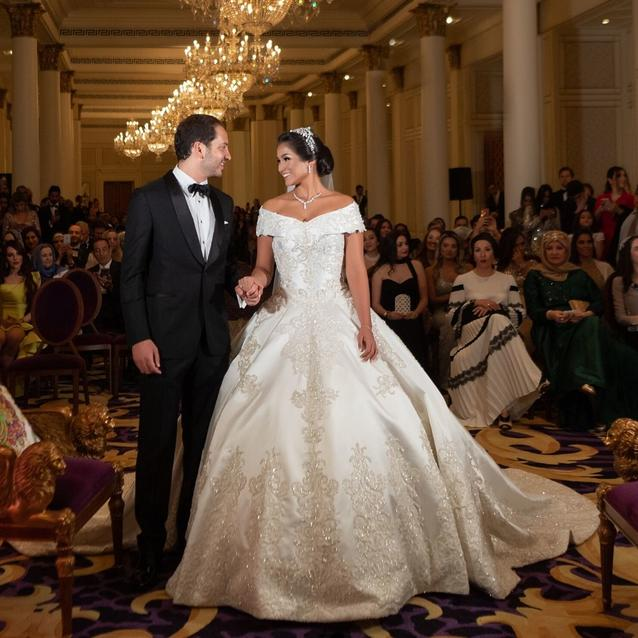 Inside The Wedding Of Marjorie Azevedo Soter And Abdulrahman Talal Bakir