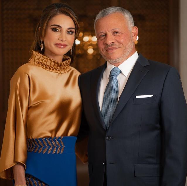 King Abdullah II of Jordan and Queen Rania Celebrate 27 Years Of Marriage