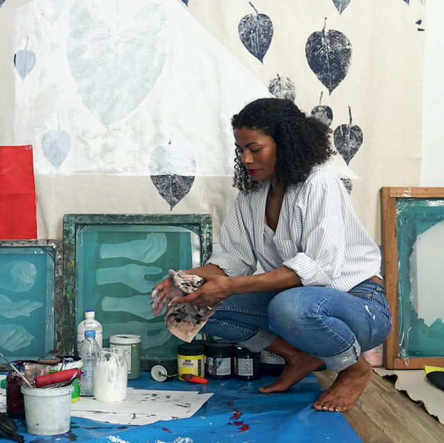 Inside Artist Zohra Opoku's Ethereal Studio In Senegal