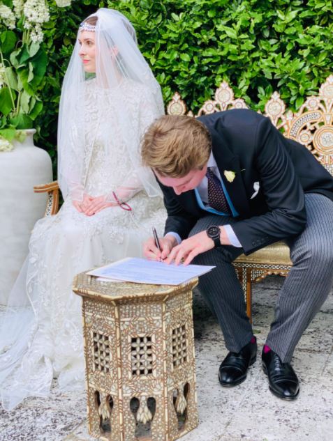 Princess Raiyah of Jordan Marries Roald Dahl's Grandson Ned Donovan In The UK