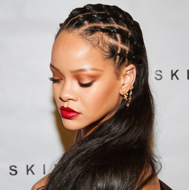 Rihanna Threw A Huge (Virtual) House Party For The Launch of Fenty Skin