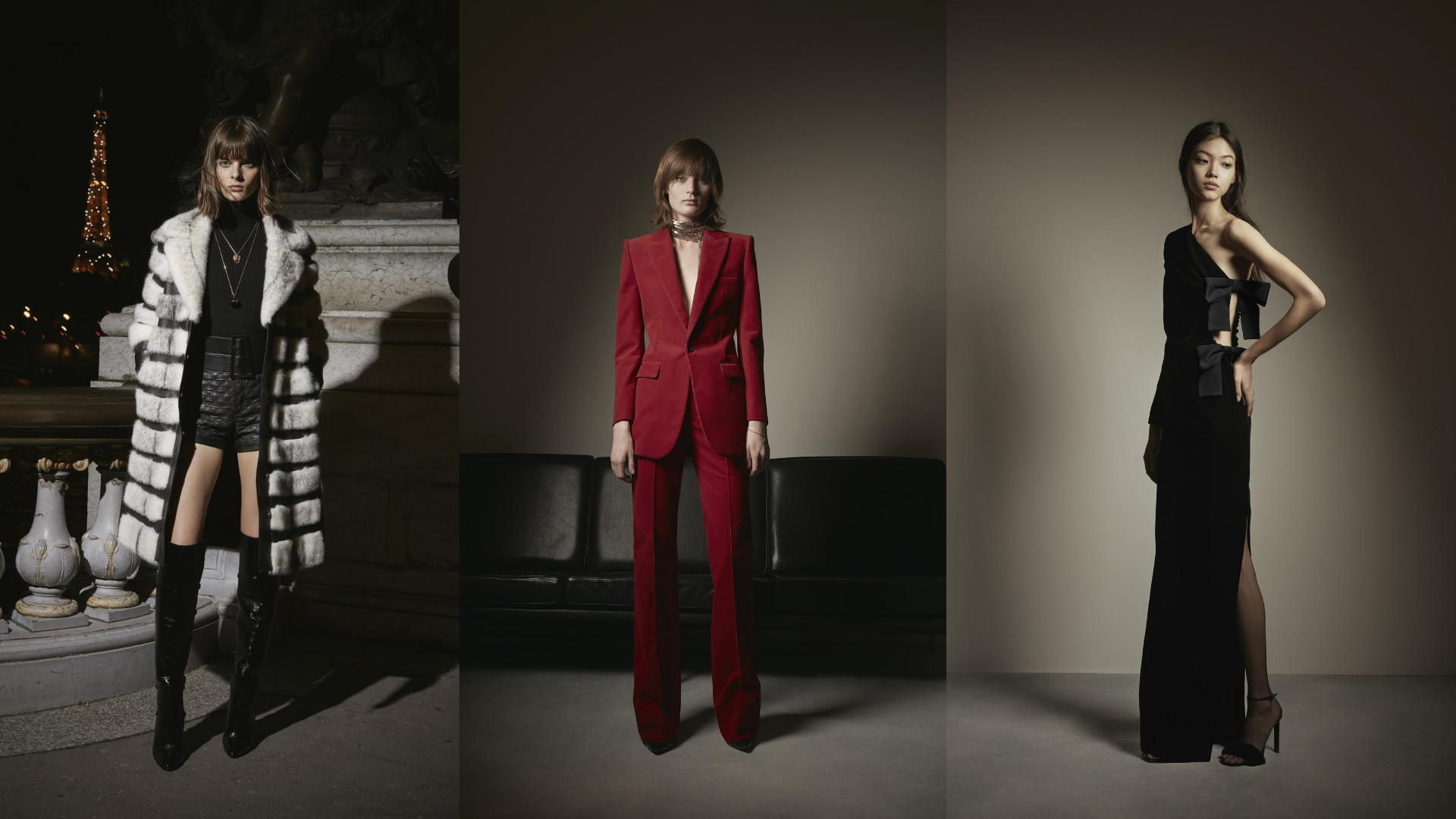 Midnight in Paris: The Top 10 Looks From Saint Laurent's Fall 20 RTW Collection