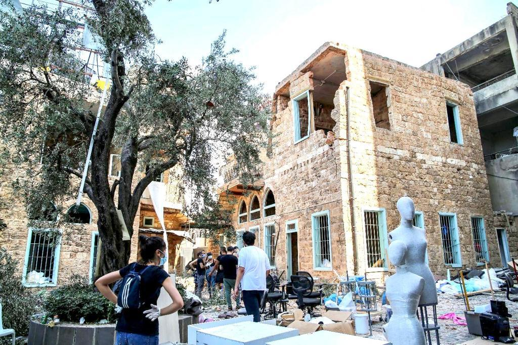 Before and After: Lebanon's Emerging Designers Hit Hard By Beirut Blast