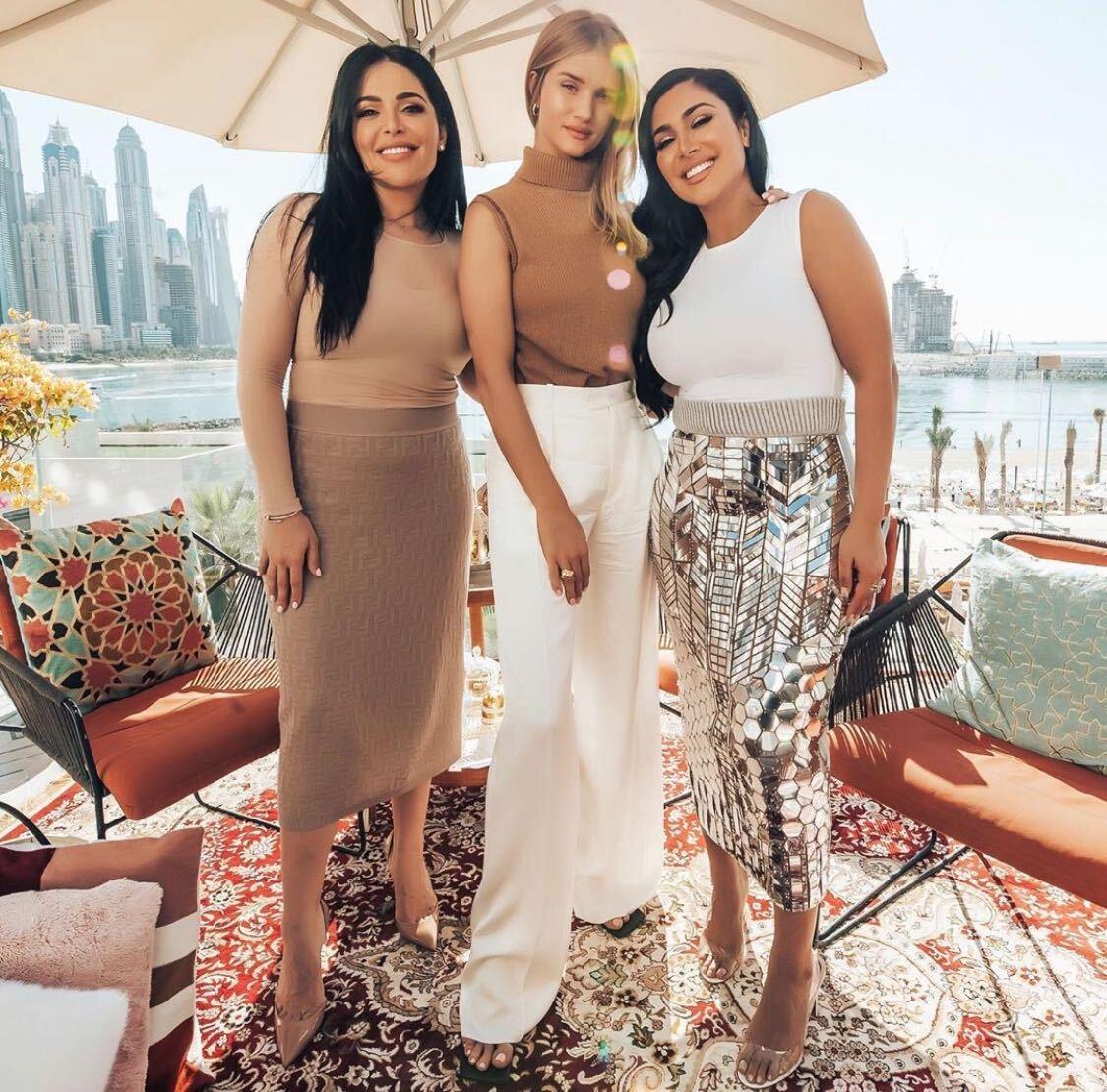 Huda and Mona Kattan Share Their Story On Rosie Huntington-Whiteley's New Series