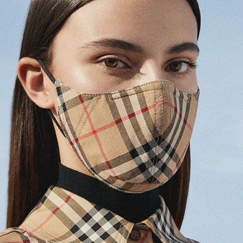 Everything You Need To Know About Burberry's New Reusable Face Masks