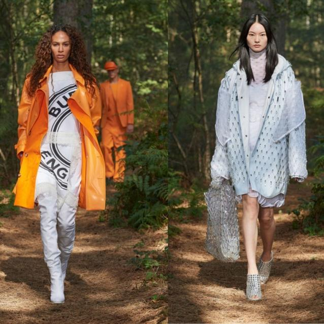 In Bloom: Best Looks From Burberry's Spring/Summer 2021