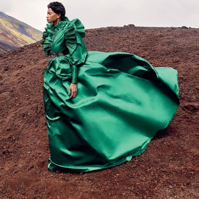 Force Of Nature: Out Of This World Dressing | Harper's Bazaar Arabia