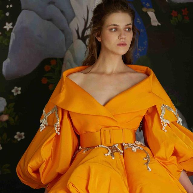 Un Reve Flamand: We Can't Stop Dreaming About Azzi & Osta's New Haute Couture AW 20/21 Collection